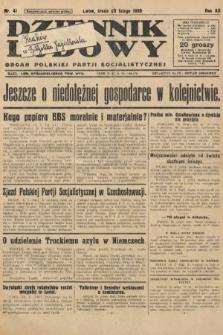 Dziennik Ludowy : organ Polskiej Partji Socjalistycznej. 1929, nr41