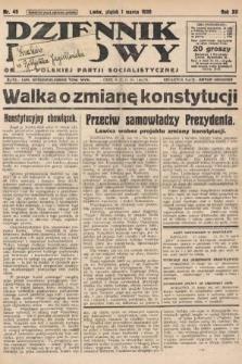 Dziennik Ludowy : organ Polskiej Partji Socjalistycznej. 1929, nr49