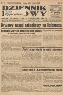 Dziennik Ludowy : organ Polskiej Partji Socjalistycznej. 1929, nr55