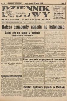 Dziennik Ludowy : organ Polskiej Partji Socjalistycznej. 1929, nr56