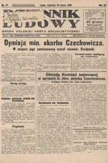 Dziennik Ludowy : organ Polskiej Partji Socjalistycznej. 1929, nr57