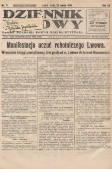 Dziennik Ludowy : organ Polskiej Partji Socjalistycznej. 1929, nr71