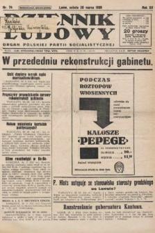 Dziennik Ludowy : organ Polskiej Partji Socjalistycznej. 1929, nr74