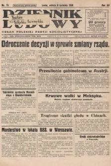 Dziennik Ludowy : organ Polskiej Partji Socjalistycznej. 1929, nr78