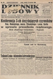 Dziennik Ludowy : organ Polskiej Partji Socjalistycznej. 1929, nr84