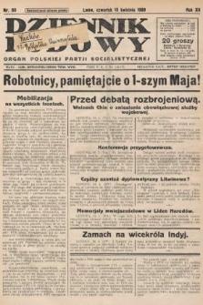 Dziennik Ludowy : organ Polskiej Partji Socjalistycznej. 1929, nr88