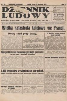 Dziennik Ludowy : organ Polskiej Partji Socjalistycznej. 1929, nr89