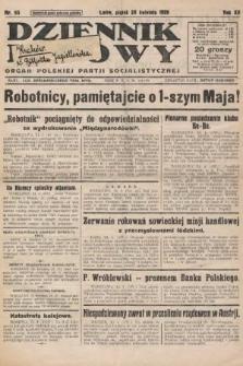 Dziennik Ludowy : organ Polskiej Partji Socjalistycznej. 1929, nr95