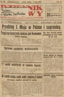 Dziennik Ludowy : organ Polskiej Partji Socjalistycznej. 1929, nr101