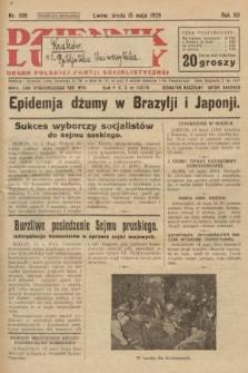 Dziennik Ludowy : organ Polskiej Partji Socjalistycznej. 1929, nr108
