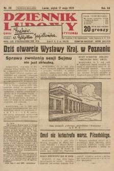 Dziennik Ludowy : organ Polskiej Partji Socjalistycznej. 1929, nr110