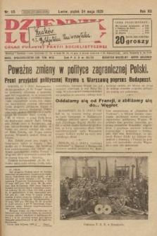 Dziennik Ludowy : organ Polskiej Partji Socjalistycznej. 1929, nr115