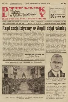 Dziennik Ludowy : organ Polskiej Partji Socjalistycznej. 1929, nr129