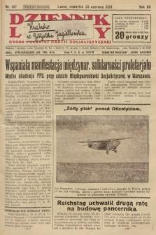 Dziennik Ludowy : organ Polskiej Partji Socjalistycznej. 1929, nr137