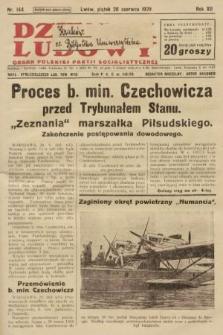 Dziennik Ludowy : organ Polskiej Partji Socjalistycznej. 1929, nr144