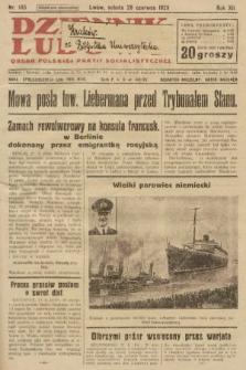 Dziennik Ludowy : organ Polskiej Partji Socjalistycznej. 1929, nr145