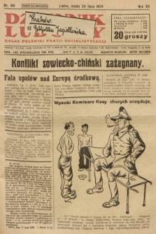 Dziennik Ludowy : organ Polskiej Partji Socjalistycznej. 1929, nr166