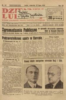 Dziennik Ludowy : organ Polskiej Partji Socjalistycznej. 1929, nr167