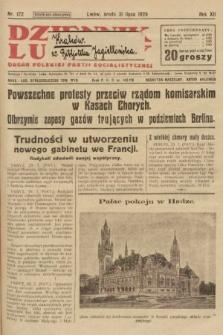 Dziennik Ludowy : organ Polskiej Partji Socjalistycznej. 1929, nr172