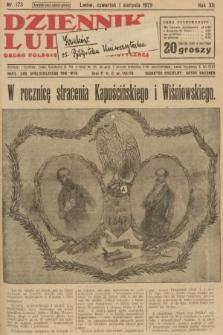 Dziennik Ludowy : organ Polskiej Partji Socjalistycznej. 1929, nr173