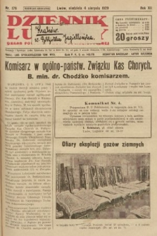Dziennik Ludowy : organ Polskiej Partji Socjalistycznej. 1929, nr176