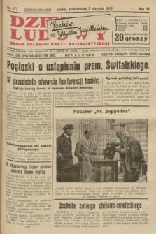 Dziennik Ludowy : organ Polskiej Partji Socjalistycznej. 1929, nr177