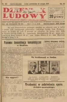 Dziennik Ludowy : organ Polskiej Partji Socjalistycznej. 1929, nr183