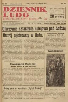 Dziennik Ludowy : organ Polskiej Partji Socjalistycznej. 1929, nr186