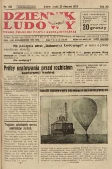 Dziennik Ludowy : organ Polskiej Partji Socjalistycznej. 1929, nr189