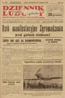 Dziennik Ludowy : organ Polskiej Partji Socjalistycznej. 1929, nr194