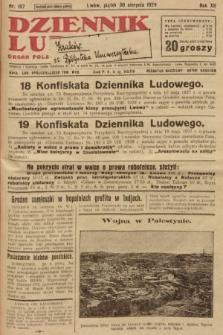 Dziennik Ludowy : organ Polskiej Partji Socjalistycznej. 1929, nr197