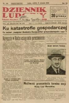 Dziennik Ludowy : organ Polskiej Partji Socjalistycznej. 1929, nr198