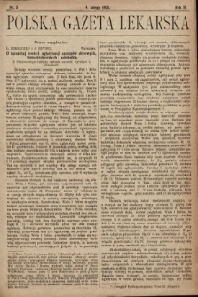 Polska Gazeta Lekarska. 1923, nr5
