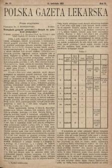 Polska Gazeta Lekarska. 1923, nr15