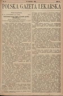 Polska Gazeta Lekarska. 1923, nr16