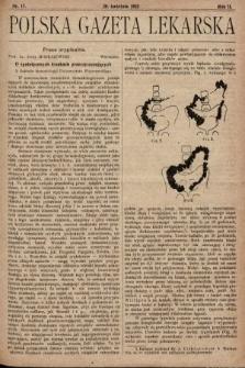 Polska Gazeta Lekarska. 1923, nr17