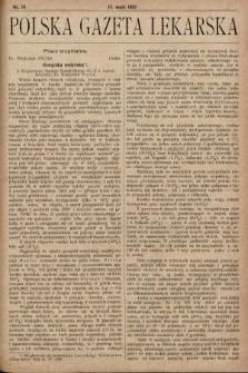 Polska Gazeta Lekarska. 1923, nr19