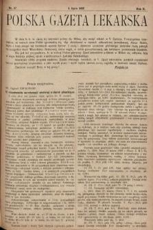 Polska Gazeta Lekarska. 1923, nr27