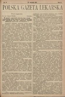 Polska Gazeta Lekarska. 1923, nr32