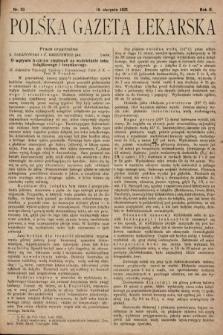 Polska Gazeta Lekarska. 1923, nr33