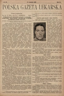 Polska Gazeta Lekarska. 1923, nr36