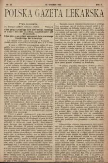 Polska Gazeta Lekarska. 1923, nr37