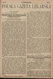 Polska Gazeta Lekarska. 1923, nr42