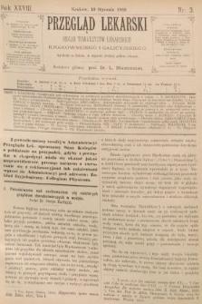 Przegląd Lekarski : organ Towarzystw Lekarskich Krakowskiego i Galicyjskiego. 1889, nr3