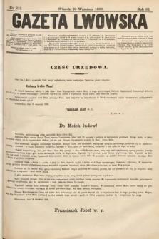 Gazeta Lwowska. 1898, nr213