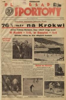 Przegląd Sportowy. 1938, nr7