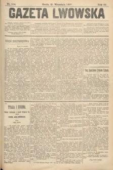 Gazeta Lwowska. 1898, nr214