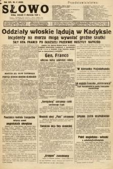 Słowo. 1937, nr4