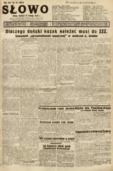 Słowo. 1937, nr43