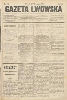 Gazeta Lwowska. 1898, nr219